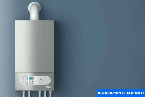 renovar calentador gas Alicante